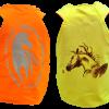 Gilet de visibilité fluo jaune pour cavalier