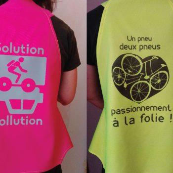 gilet solution pollution vasimimile fabriqué en France