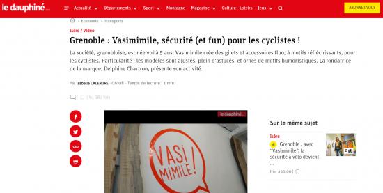 Article Vasimimile Le Dauphine